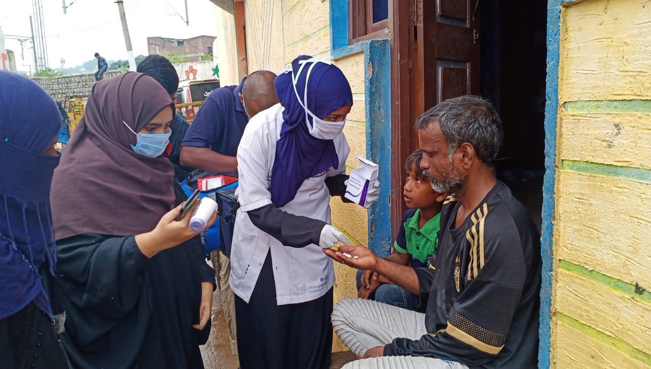 Medicines to poor and destitute