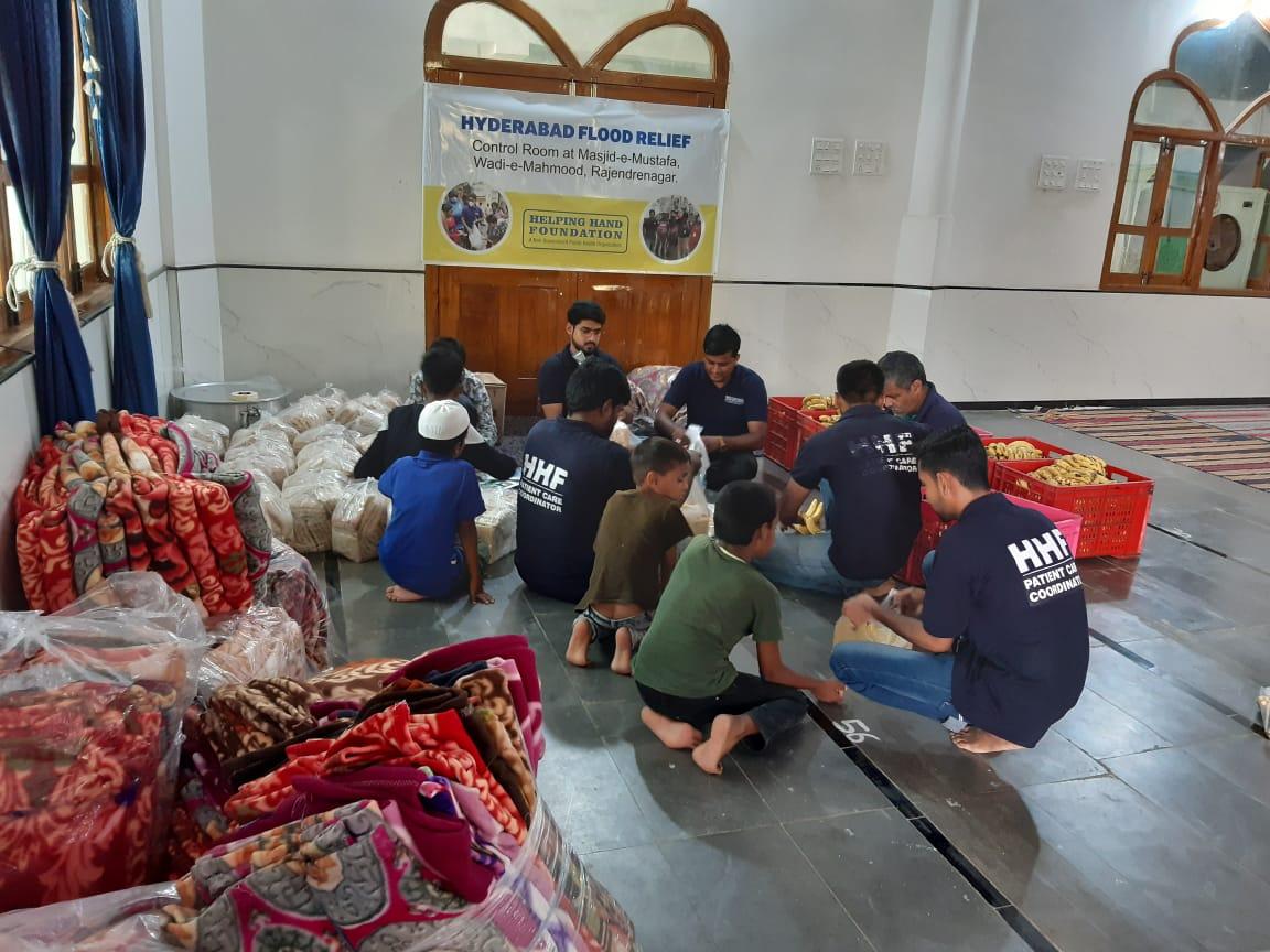 Preparation at Masjid
