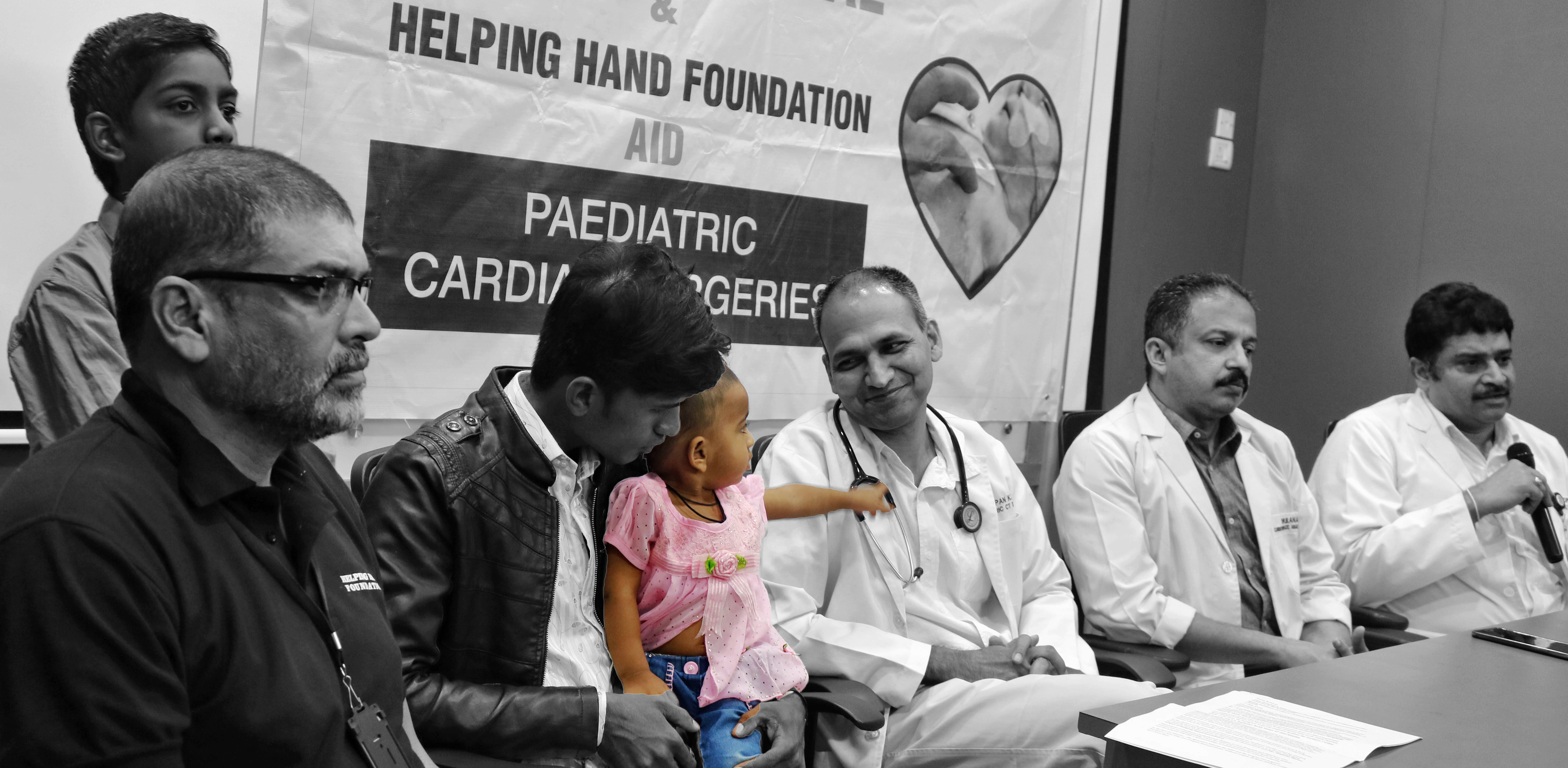 Healthcare NGO Helping Hand Foundation has tied up with Care Hospital, Banjara Hills to support subsidised pediatric cardiac surgeries in cases involving families from poor economic background.